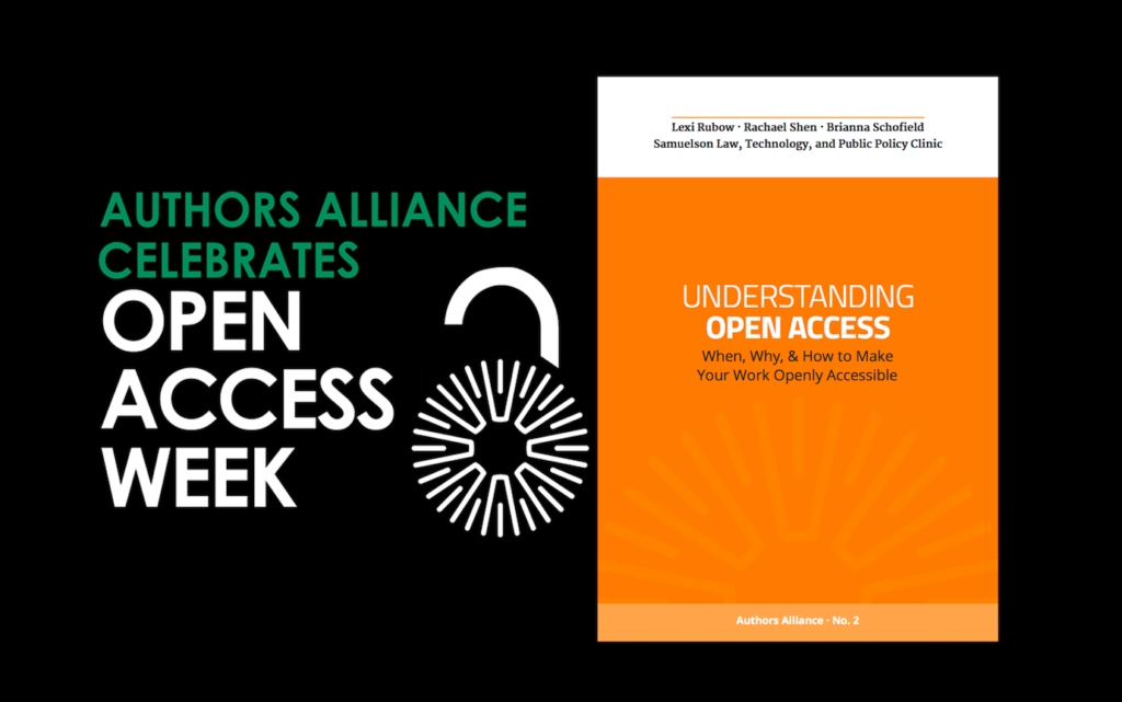 cover of Understanding Open Access guide