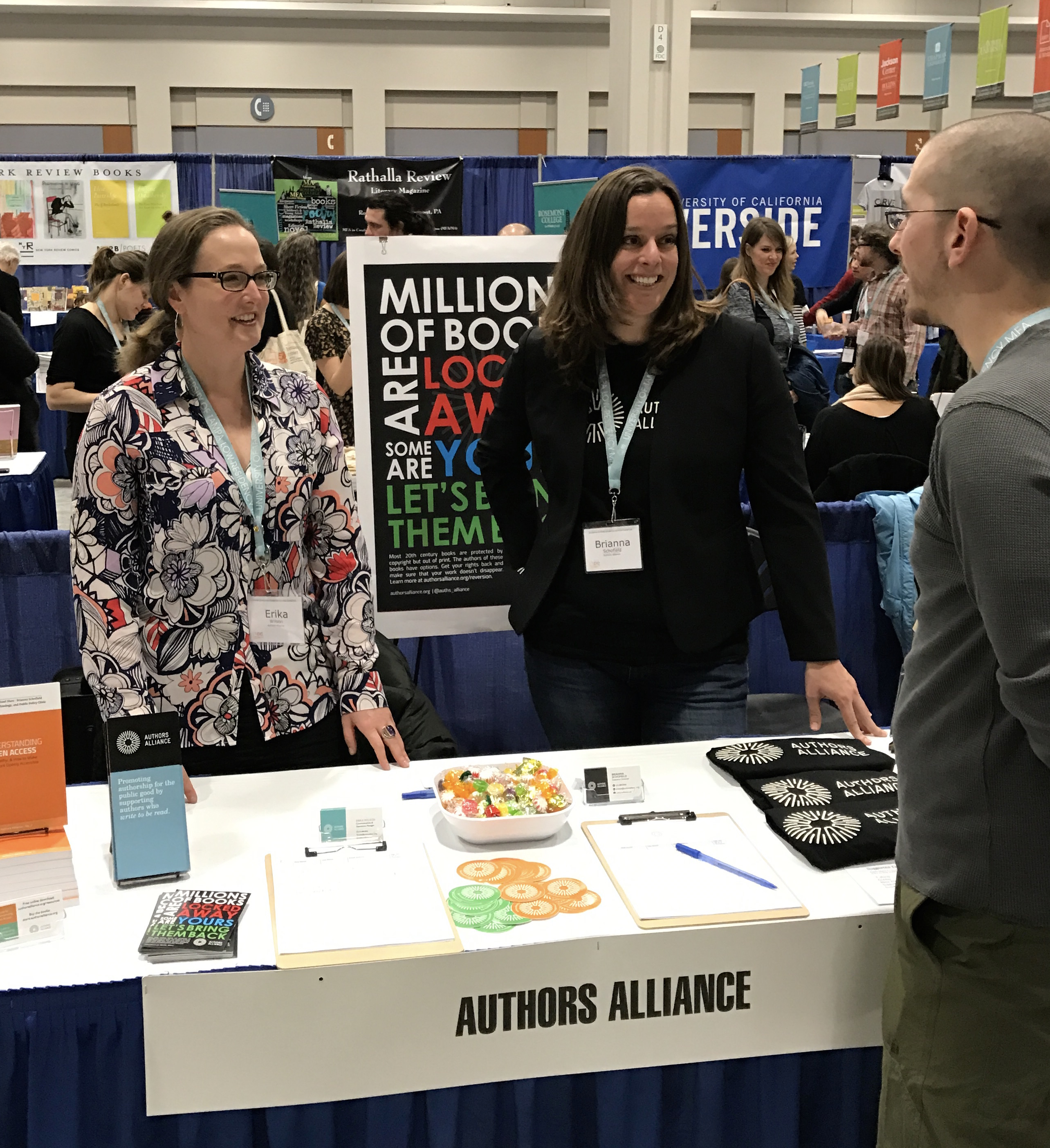 """""""The Best Panel I Attended"""": Authors Alliance at the AWP Conference"""
