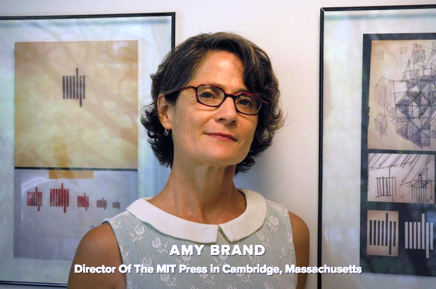 Headshot of Amy Brand, Director of the MIT Press