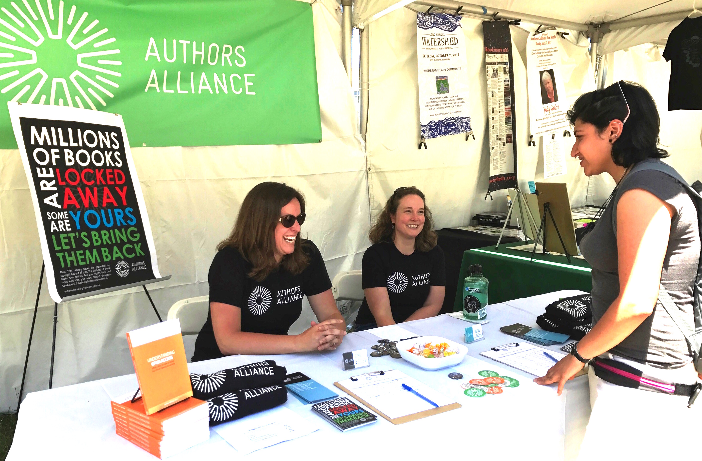 Another Successful Bay Area Book Fest!