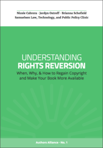 Rights Reversion Cover