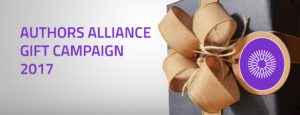 Authors Alliance Gift Campaign 2017