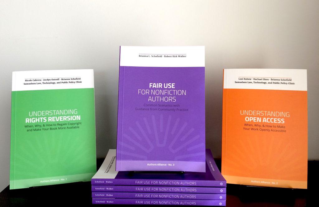 Authors Alliance handbooks