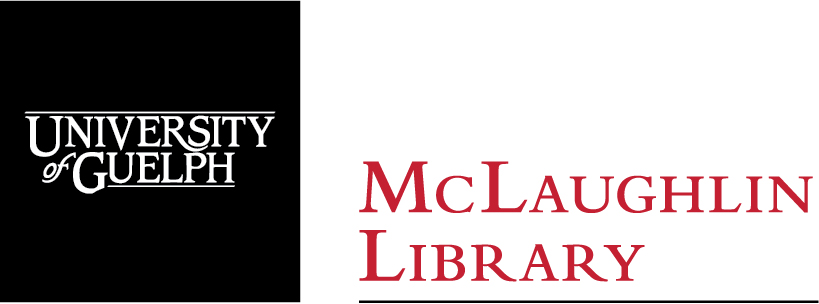 University of Guelph McLaughlin Library logo