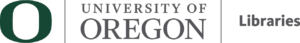 University of Oregon Libraries logo