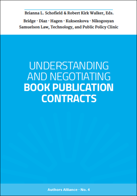 Guide to Publication Contracts cover