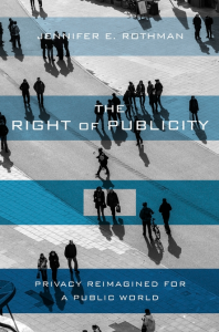 Cover of The Right of Publicity